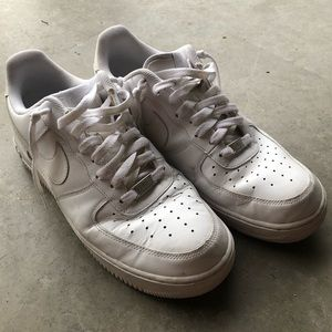 Nike Shoes - mens white nike air forces